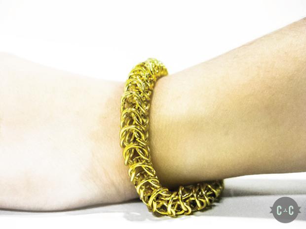 Byzantine Chain Bracelet done