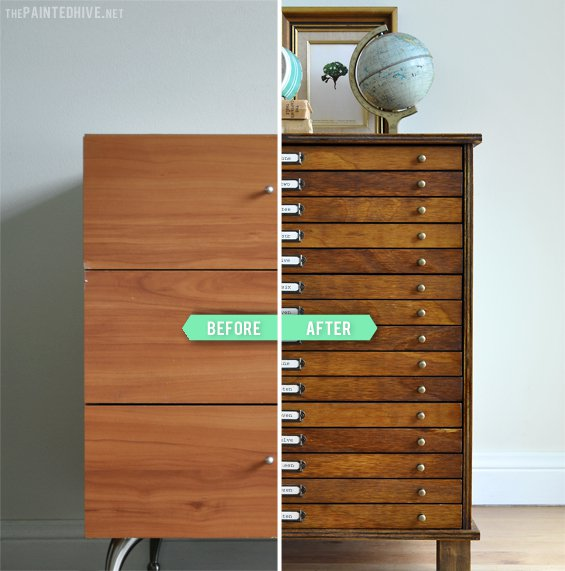 Great Idea To Transform The Boring Dresser