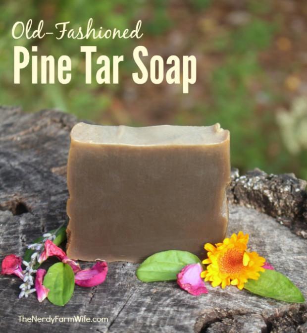 Pine Tar Soap Recipe