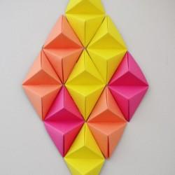 6 DIY Paper Wall Decorations